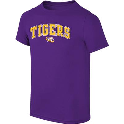 LSU Youth Arch Tigers with Eye Tee Shirt
