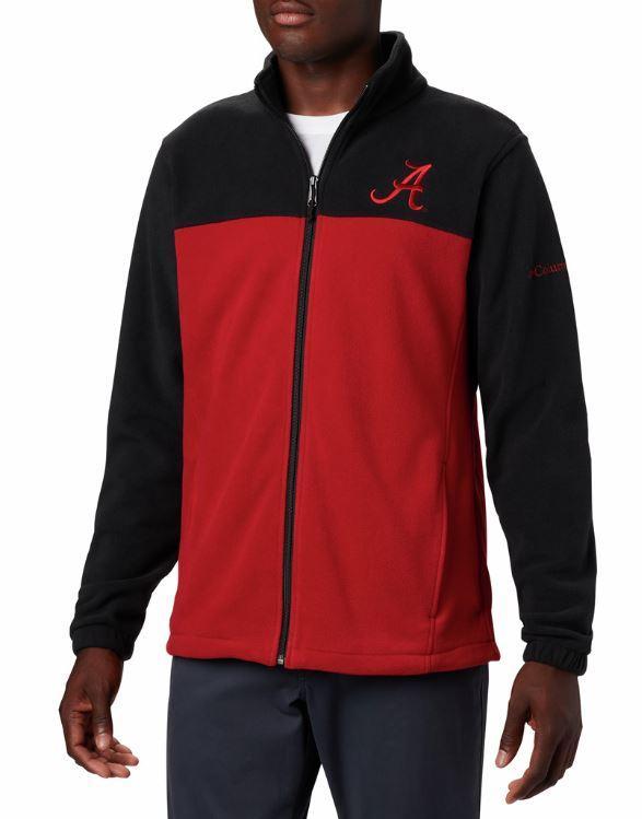 Alabama Columbia Men's Flanker Iii Fleece Jacket