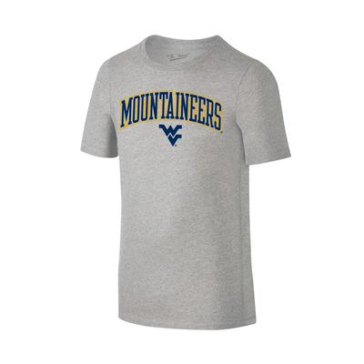 West Virginia Youth Arch Mountaineers Logo Tee Shirt