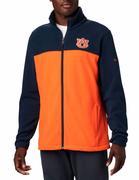 Auburn Columbia Men's Flanker Iii Fleece Jacket