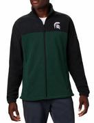 Michigan State Columbia Men's Flanker Iii Fleece Jacket