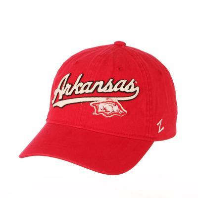 Arkansas Zephyr Homer Logo Hat