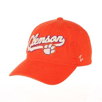 Clemson Zephyr Homer Logo Hat