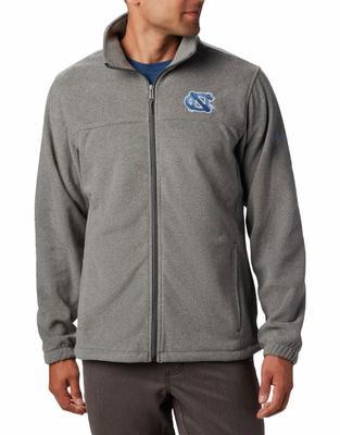 UNC Columbia Men's Flanker III Fleece Jacket