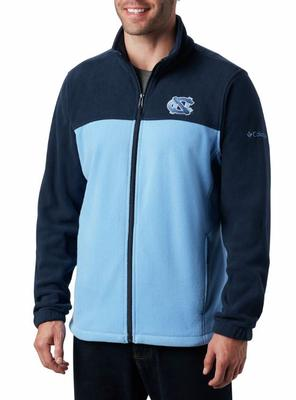 UNC Columbia Men's Flanker III Fleece Jacket