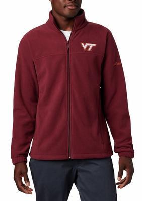 Virginia Tech Columbia Men's Flanker III Fleece Jacket