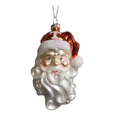 Tennessee Seasons Design Santa Glass Ornament
