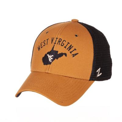 West Virginia Zephyr Sahara Mascot Hat