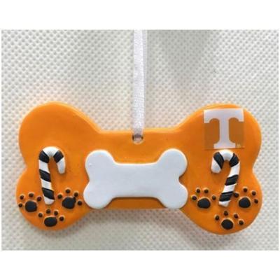 Tennessee Seasons Dog Bone Ornament