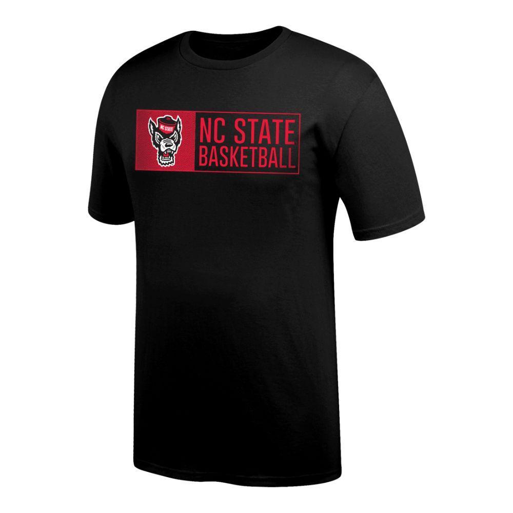 Nc State Basketball Bar Logo Tee Shirt