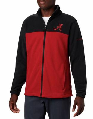Alabama Columbia Men's Flanker III Fleece Jacket - Big Sizing