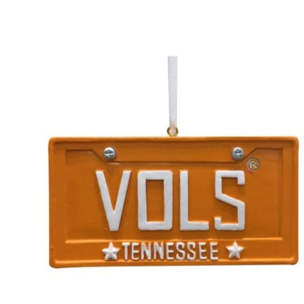 Tennessee Seasons Design License Plate Ornament