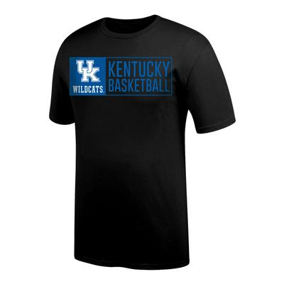 Kentucky Basketball Logo Bar Tee Shirt
