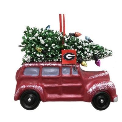 Georgia Seasons Design Van Ornament