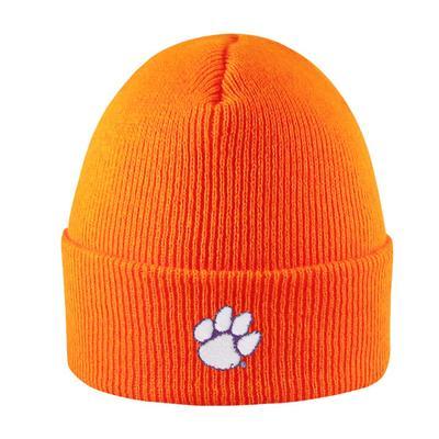 Clemson LogoFit Cuffed Knit Hat