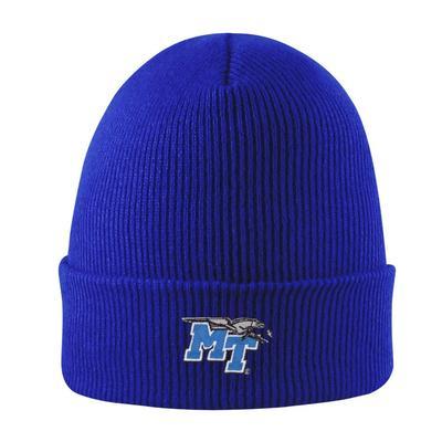 MTSU LogoFit Cuffed Knit Hat