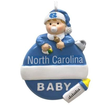 UNC Seasons Design Baby's 1st Christmas Ornament