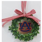 Auburn Seasons Design Wreath Ornament