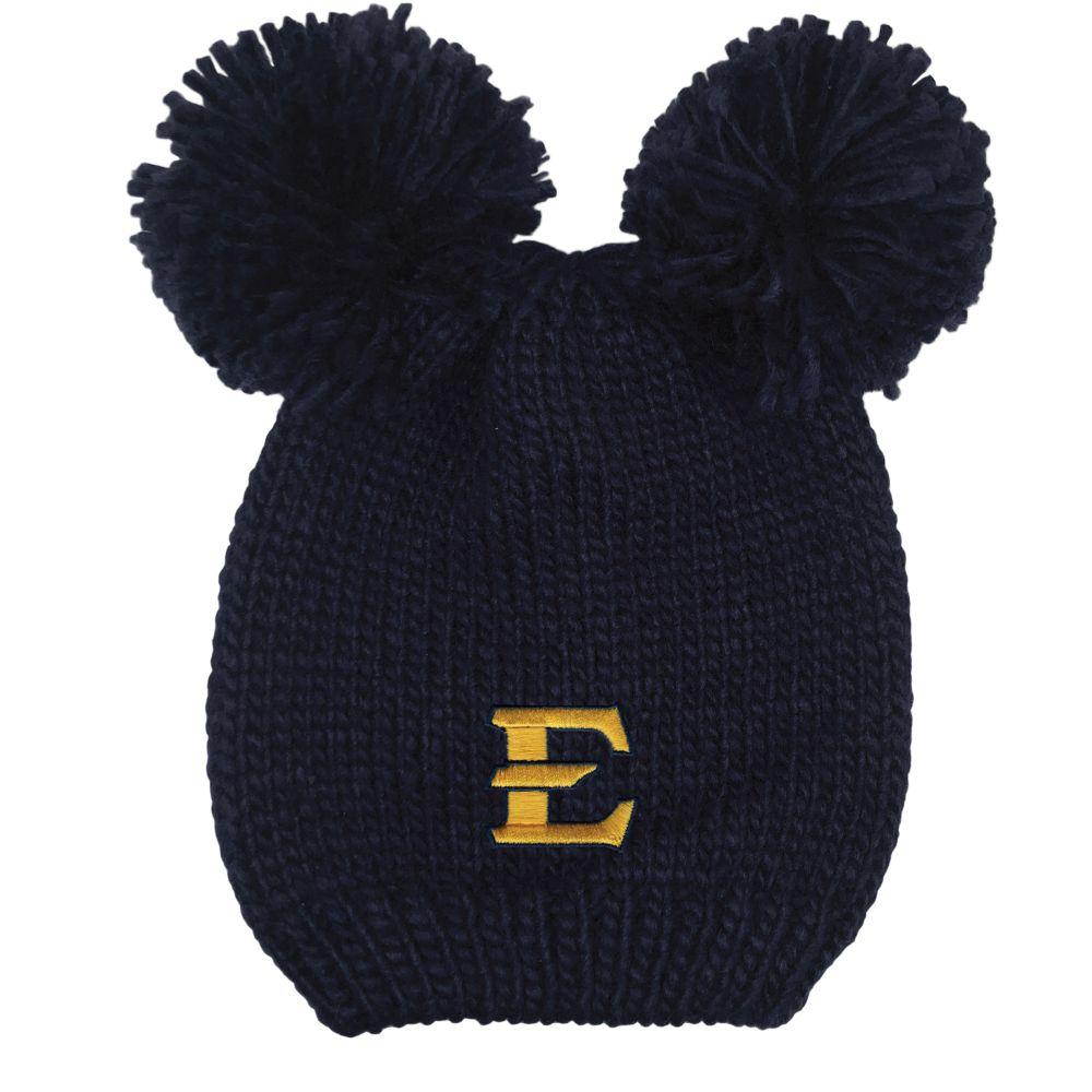 Etsu Logofit Kids ' Double Pom Knit Hat