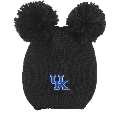 Kentucky LogoFit Kids' Double Pom Knit Hat