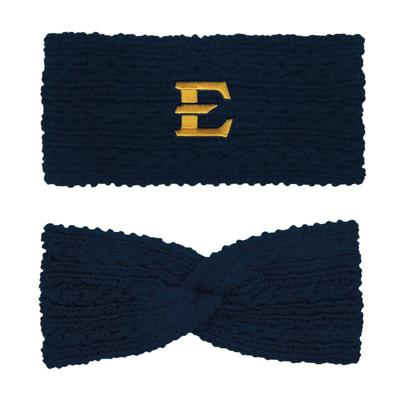 ETSU LogoFit Knit Twist Ear Band