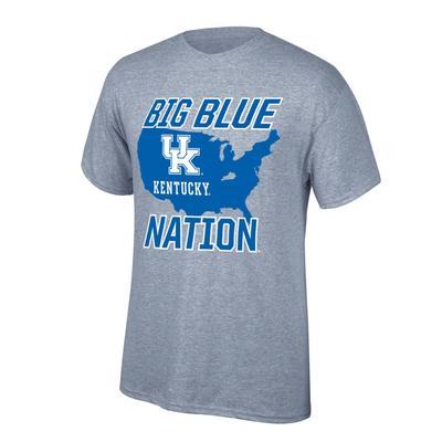 Kentucky Big Blue Nation Tee Shirt