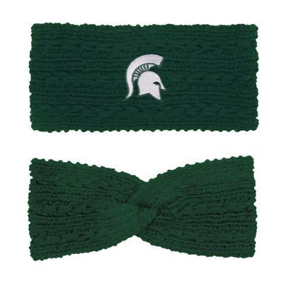 Michigan State LogoFit Knit Twist Ear Band