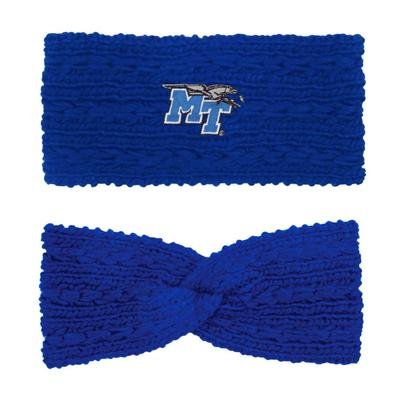 MTSU LogoFit Knit Twist Ear Band