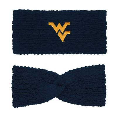 West Virginia LogoFit Knit Twist Ear Band