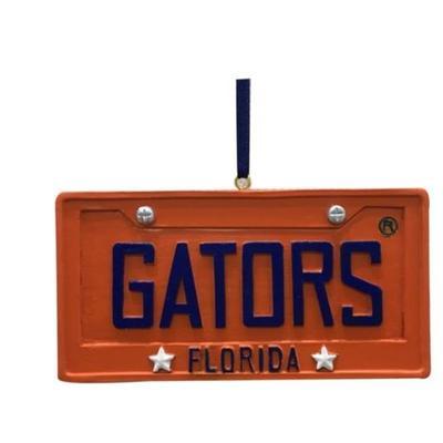 Florida Seasons Design License Plate Ornament