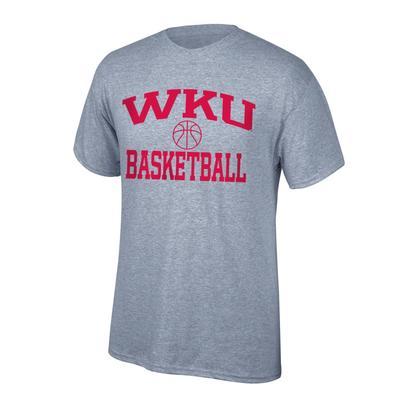 Western Kentucky Youth Arch Basketball Tee Shirt OXFORD