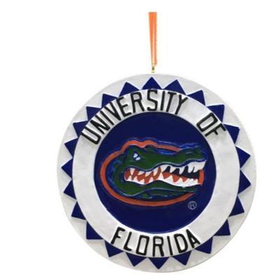 Florida Seasons Design 3D Mascot Ornament