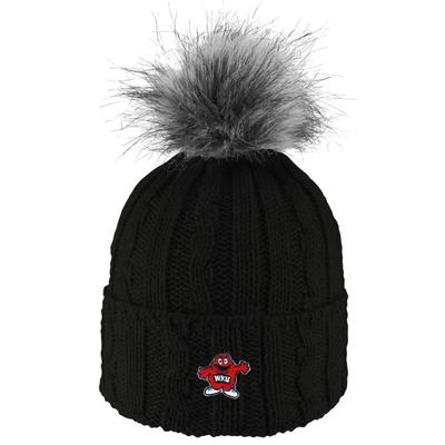 Western Kentucky LogoFit Women's Alps Cuffed Knit Hat