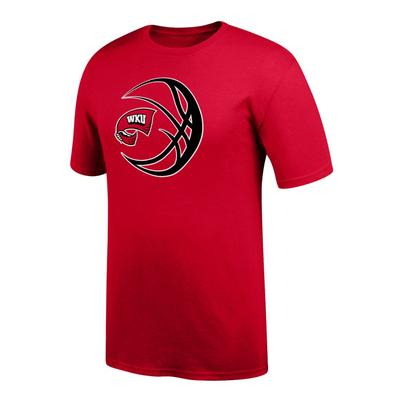 Western Kentucky Logo in Basketball Tee Shirt