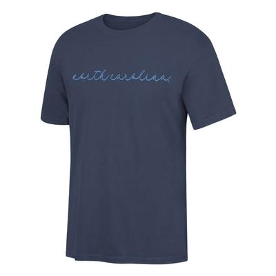 UNC Women's Simple Script Comfort Colors Tee
