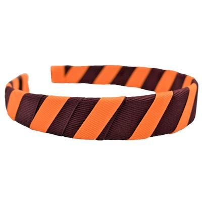 Maroon & Orange 1 Inch Headband