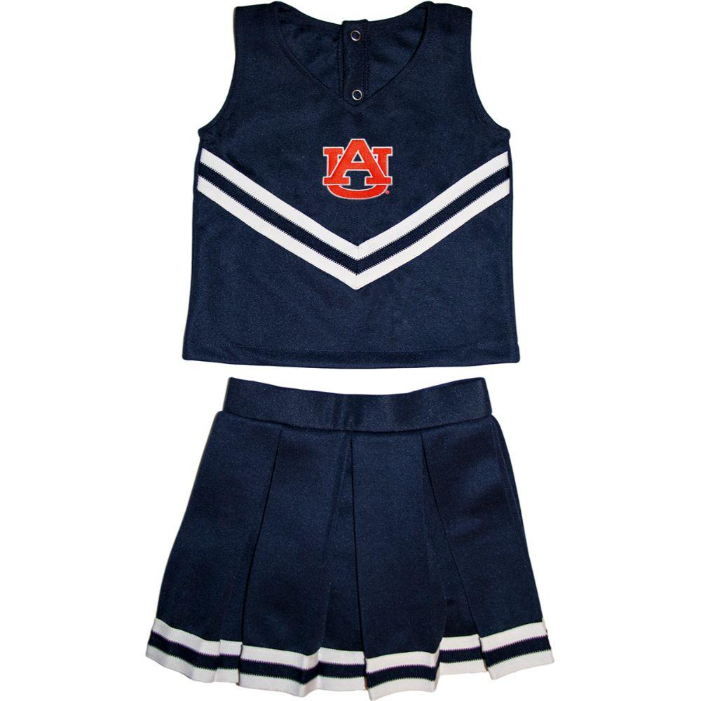 Auburn Toddler 2 Piece Cheerleader Outfit