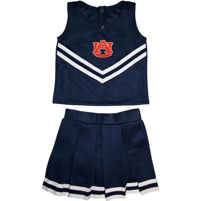 Auburn Toddler 2 Piece Cheerleader Outfit