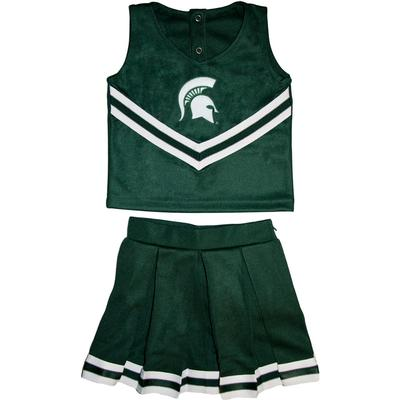 Michigan State Toddler 2 Piece Cheerleader Outfit