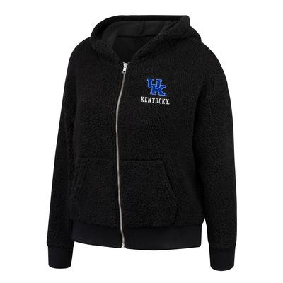 Kentucky Women's Forever Sherpa Full Zip Hoodie