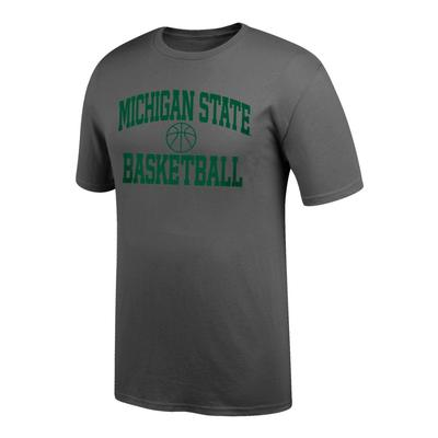 Michigan State Arch Basketball Tee Shirt