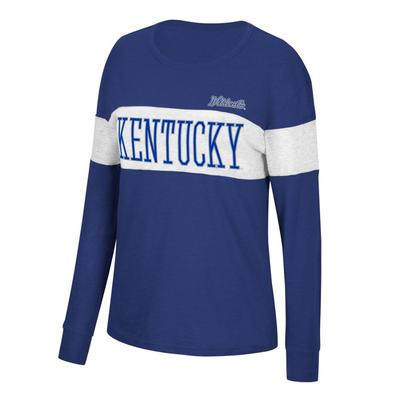 Kentucky Women's Colorblock Tee