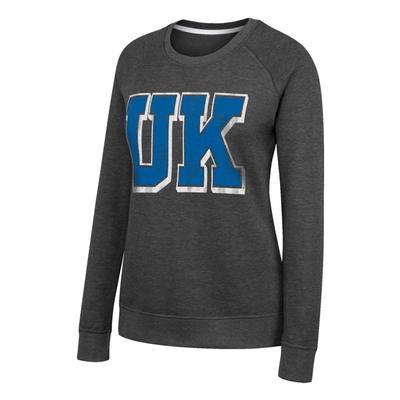Kentucky Women's Fleece Crew Block UK Pullover