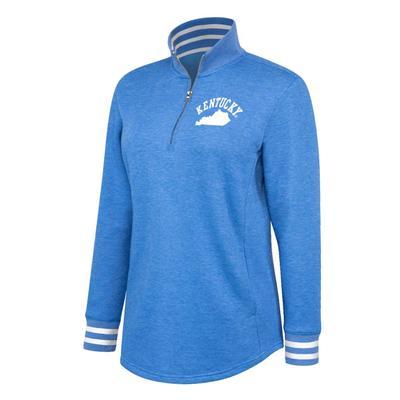 Kentucky Women's Fleece Quarter Zip Pullover