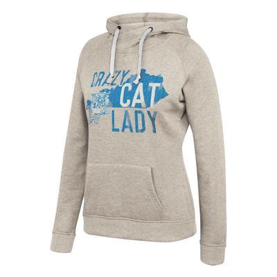 Kentucky Women's Crazy Cat Lady Hoodie