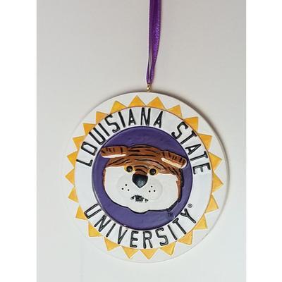 LSU Seasons Design 3D Mascot Ornament
