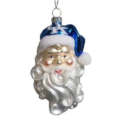 Kentucky Seasons Design Santa Ornament