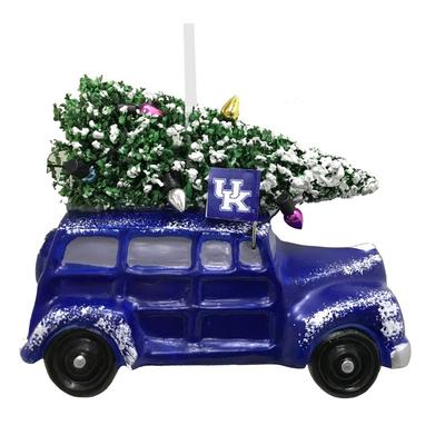 Kentucky Seasons Design Van Ornament