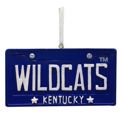 Kentucky Seasons Design License Plate Ornament