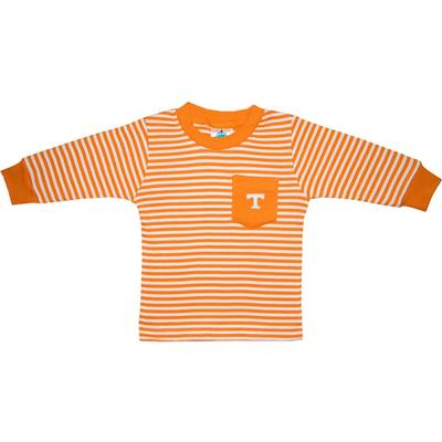 Tennessee Toddler Striped L/S Pocket Tee